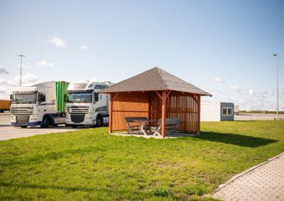 Parking TIR Port Kopytkowo