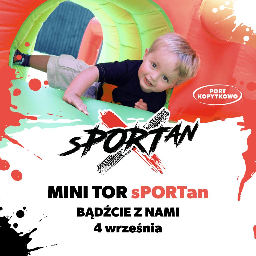 Mini sPORTan – mini wyzwanie dla dzieci!